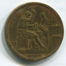 Medallas históricas: MEDALLA DE LA MONEDA DE BRUSELAS. 1910 (MEDAILLE MONNAIE BRUXELLES). Lote 110090299