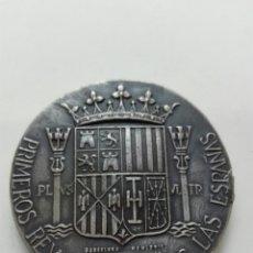 Medallas históricas: JUANA Y CAROLOS PRIMEROS REYES DE LAS ESPAÑAS. Lote 111018806
