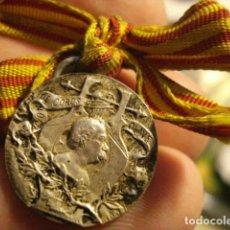 Medallas históricas: JOSE ANSELMO CLAVÉ Y CAMPS - CATALUÑA - FUNDADOR MOVIMIENTO CORAL - COROS - PLATA. Lote 112382967