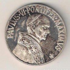 Medallas históricas: MEDALLA PLATEADA DE PABLO VI EN PROOF. (MD45). Lote 113586583