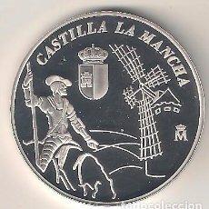 Medallas históricas: MEDALLA DE 2003 DE CASTILLA LA MANCHA DEL 25 ANIVERSARIO DE LA CONSTITUCIÓN. PLATA. PROOF (MD51). Lote 113833475