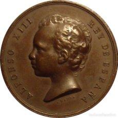 Medallas históricas: ALFONSO XIII. MEDALLA EXPOSICIÓN NACIONAL DE BELLAS ARTES. MADRID 1.890. Lote 113911735