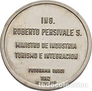 Medallas históricas: Medalla Peruana plata 1982 - Foto 2 - 114071436