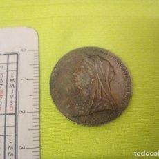 Medallas históricas: REINO UNIDO. MEDALLA DE LA REINA VICTORIA. 60 ANIVERSARIO. 1897. Lote 114181383