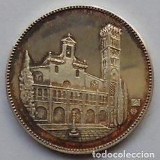 Medallas históricas: MEDALLA - CENTENARIO DE LA CAJA DE AHORROS DE ZARAGOZA, ARAGÓN Y LA RIOJA - PLATA. Lote 114263511