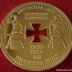 Medallas históricas: MONEDA ORO GERMAN 1889 BERLÍN REICHSBANK STOLZ GOLD COIN. Lote 114718463