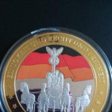 Medallas históricas: MONEDA CONMEMORATIVA DE ALEMANIA EL CAMINO HACIA LIBERTAD AÑO 2011 CON CERTIFICADO DE AUTENTICIDAD.. Lote 114748607