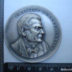 Medallas históricas: MEDALLA CONMEMORATIVA DE FRANCES G DURAN I REINALS. Lote 115416383