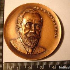 Medallas históricas: MEDALLA CONMEMORATIVA DE JOAN MARAGALL. Lote 115526627