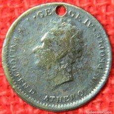 Medallas históricas: ORIGINAL - 1762 - MONEDA TOKEN - REINO UNIDO - JORGE IV - DIAMETRO: 22 MM. Lote 116165663