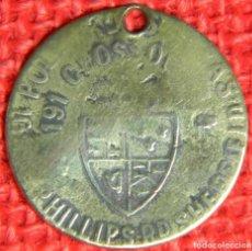 Medallas históricas: ORIGINAL - SIGLO XIX - MONEDA TOKEN - REINO UNIDO - JORGE IV - DIAMETRO: 25 MM. Lote 116165831