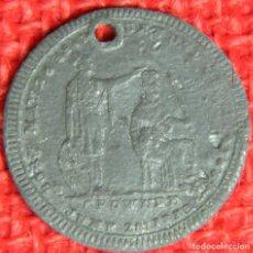 Medallas históricas: ORIGINAL - 1813 - MONEDA TOKEN - REINO UNIDO - REINA VICTORIA - DIAMETRO: 25 MM. POR DETERMINAR. Lote 116166923