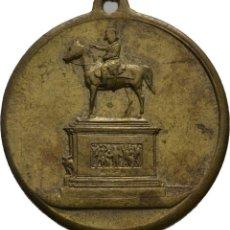 Medallas históricas: IMPERIO ALEMAN! MEDALLA! 1892 JOSEF GRAF RADETZKY! DESCUBRIENDO EL MONUMENTO RADETZKY EN VIENA! EBC. Lote 116222199