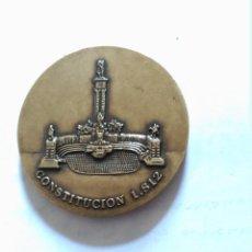Medallas históricas: MEDALLA CONSTITUCION 1812 BRONCE CADIZ. Lote 116244223