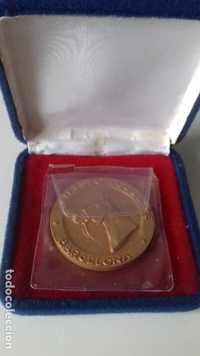 MEDALLA CONMEMORATIVA ANIVERSARIO CIRCULO ESCUESTRE DE BARCELONA (Numismática - Medallería - Histórica)