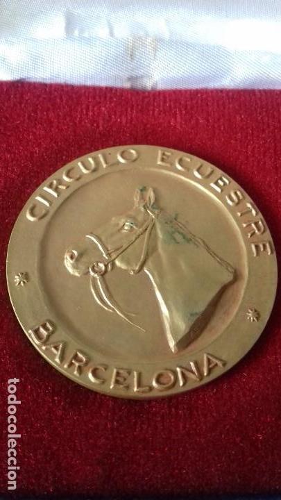 Medallas históricas: MEDALLA CONMEMORATIVA ANIVERSARIO CIRCULO ESCUESTRE DE BARCELONA - Foto 3 - 116434395