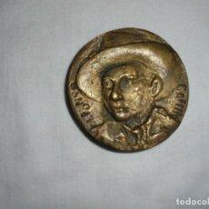 Medallas históricas: ALFONSO CAMIN MEDALLA DE LA COLECCION ASTURIANOS ILUSTRES.ESCULTOR KIKER 1981. Lote 116620687