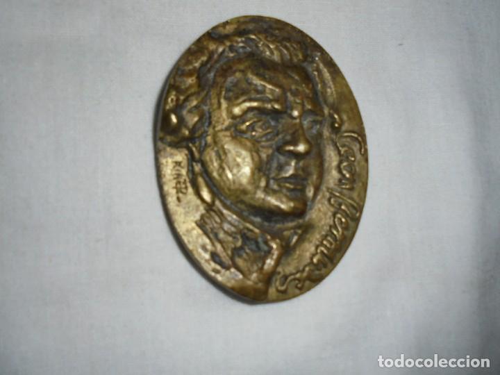 CEAN BERMUDEZ MEDALLA DE LA COLECCION ASTURIANOS ILUSTRES.ESCULTOR KIKER 1981 (Numismática - Medallería - Histórica)