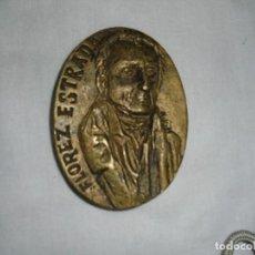 Medallas históricas: FLOREZ ESTRADA MEDALLA DE LA COLECCION ASTURIANOS ILUSTRES.ESCULTOR KIKER 1981. Lote 116621871