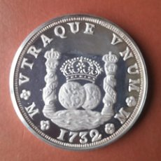 Medallas históricas: MEDALLA DE PLATA 999/1000 - PHILIP V.D.G. HISPAN.ET IND.REX - DOS ONZAS 62,5 GR. - 47MM.X5MM.. Lote 116804323