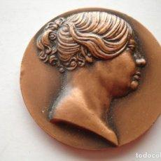 Medallas históricas: MEDALLA CONMEMORATIVA DE ISABEL II 1972. Lote 116871531
