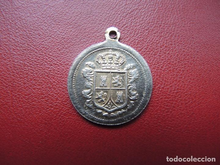 Medallas históricas: MEDALLA ALFONSO XIII Y ESCUDO ESPAÑA - Foto 2 - 117601171