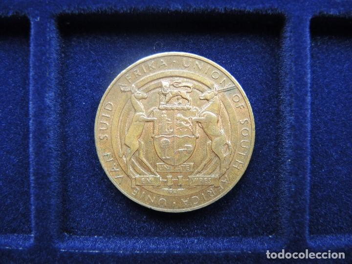 Medallas históricas: MEDALLA CONMEMORATIVA SUCESIÓN JORGE V, SUDÁFRICA, 1935 - Foto 2 - 117912947