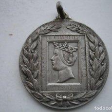 Medallas históricas: MEDALLA CONMEMORATIVA I CONCURSO FILATELICO INFANTIL LERIDA 1955. Lote 117974259