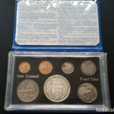 Medallas históricas: NUEVA ZELANDA- SET COPLETO-DOLARES 1979 ( ESTUCHADAS-DOLAR PLATA )PROOF SC UNC (G109 ). Lote 118076371