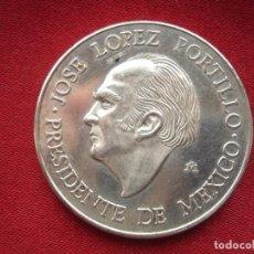 Medallas históricas: MEDALLA 1978 VISITA DEL REY JUAN CARLOS I A MEXICO JOSE LOPEZ PORTILLO . Lote 118669427