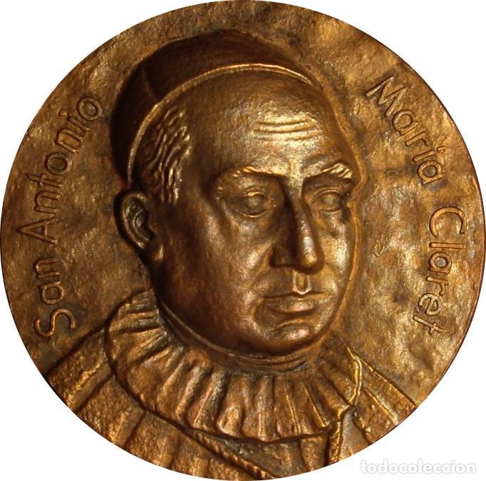ESPAÑA. MEDALLA SAN ANTONIO MARÍA CLARET. 1.951. CONGREGACIÓN CLARETIANOS (Numismática - Medallería - Histórica)
