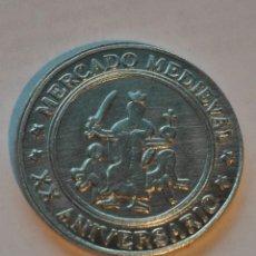 Medallas históricas: MONEDA CONMEMORATIVA 20 ANIVERSARIO TAMAJON. Lote 184505585