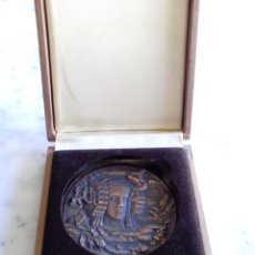 Medallas históricas: MEDALLA CONMEMORATIVA DE 100 AÑOS CAMARAS DE COMERCIO INDUSTRIA Y NAVEGACION CASTELLON. Lote 119864563