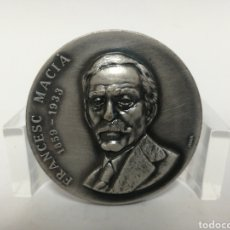 Medallas históricas: MEDALLA 5CM FRANCESC MACIA. MEDALLAS PUJOL.. Lote 120047711
