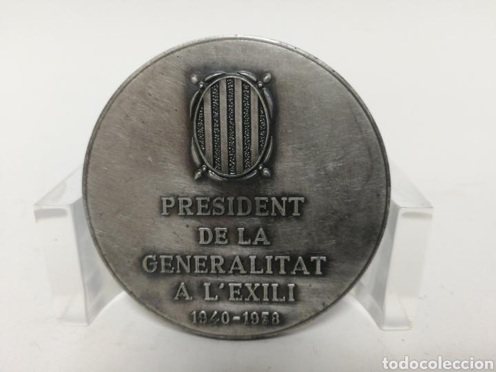 Medallas históricas: Medalla 5cm Josep Irla I Bosch. Casa Pujol. - Foto 2 - 120048850