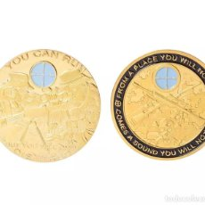 Medallas históricas: MONEDA CONMEMORATIVA FRANCOTIRADOR. Lote 133668839
