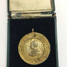 Medallas históricas: MEDALLA-LEONE XIII PONT.MASS ROMA ANTIGUA EN SU CAJA. Lote 120729268