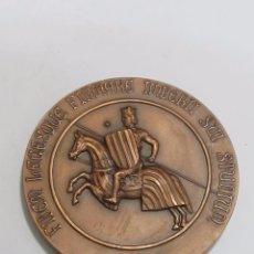 Medallas históricas: MEDALLA CONMEMORATIVA DE JAIME I, REY DE VALENCIA Y ARAGÓN (1976). Lote 120827391