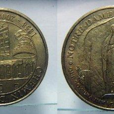 Medallas históricas: MEDALLA NOTRE DAME DE LOURDES 1858-2008. Lote 120955483
