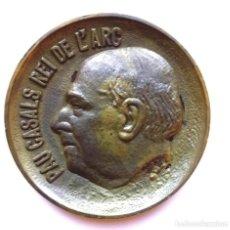 Medallas históricas: MEDALLA INEDITA,ESCULTOR FREDERIC MARES,DE COMPOSITOR PAU CASALS,EL PESSEBRE,COLECCION JOAN ALAVEDRA. Lote 120988123