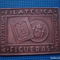 Medallas históricas: MEDALLA CONMEMORATIVA VI EXPO FIGUERAS 1962. Lote 121398607