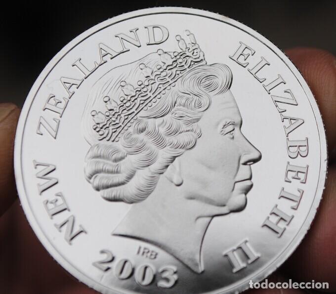 Medallas históricas: MONEDA CONMEMORATIVA SEÑOR DE LOS ANILOS ORO Y PLATA - 2003 - 40MM - CON CERTIFICADO - Foto 3 - 122127323
