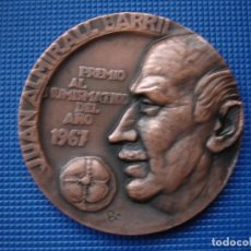 Medallas históricas: MEDALLA CONMEMORATIVA JUAN ALMIRALL BARRIL 1967. Lote 122624255