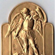 Medallas históricas: MEDALLA VILLA DE BRUSELAS,AÑO 1966 DEL POETA JOAN ALAVEDRA,CREADOR DEL POEMA EL PESEBRE,PAU CASALS. Lote 122913931