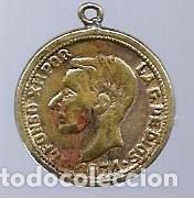 ALFONSO XII 1874. (Numismática - Medallería - Histórica)
