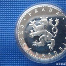 Medallas históricas: REPUBLICA CHECA MEDALLA PLATA . Lote 125860867