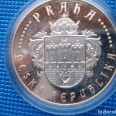 Medallas históricas: REPUBLICA CHECA MEDALLA PLATA. Lote 125861007