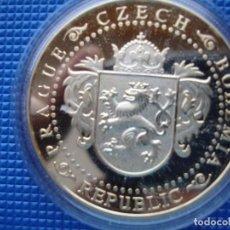 Medallas históricas: REPUBLICA CHECA MEDALLA PLATA. Lote 125861155