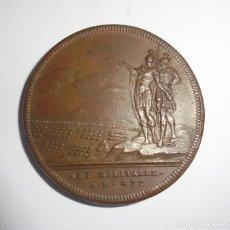Medallas históricas: MEDALLA. MAIESTE DU SENAT / ART MILITAIRE. A.R.472. VER FOTOS. Lote 125882679