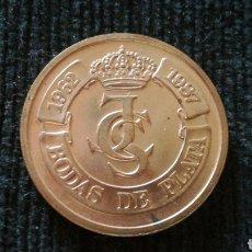 Medallas históricas: BODAS DE PLATA JUAN CARLOS I Y SOFÍA 1987. Lote 126485683